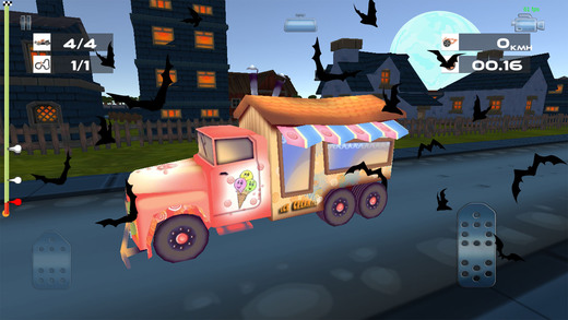 halloween spooky zombie town car racing is a simple and easy to play racing game for everyone